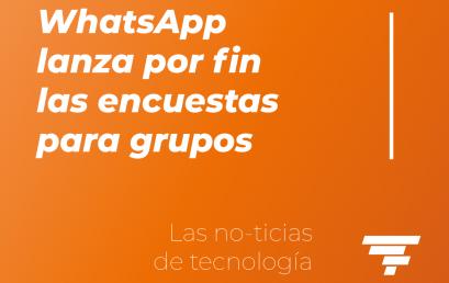 WhatsApp lanza las encuestas para grupos